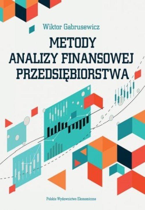 Metody analizy finansowej przedsiębiorstwa - okładka książki