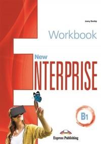 New Enterprise B1 WB & Exam Skills - okładka podręcznika