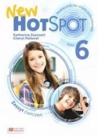 New Hot Spot 6 WB MACMILLAN - okładka podręcznika