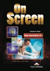 On Screen Upper-Inter B2+ SB + - okładka podręcznika