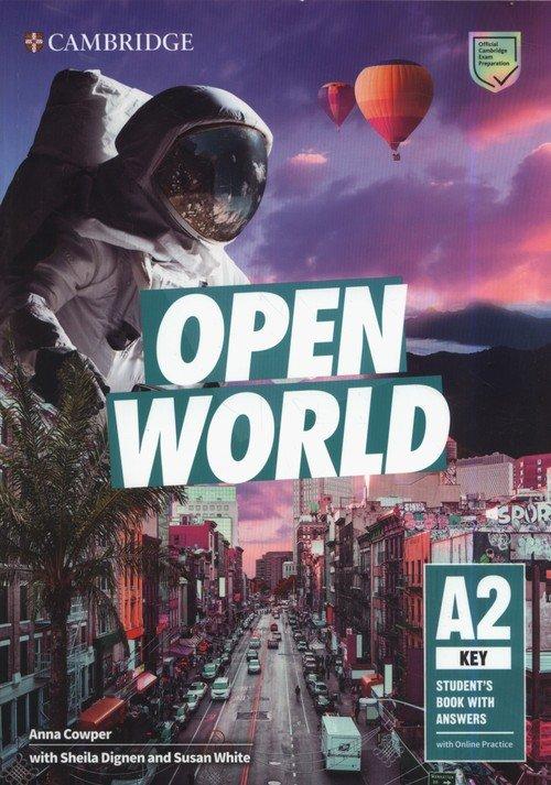 Open World Key Students Book with - okładka podręcznika
