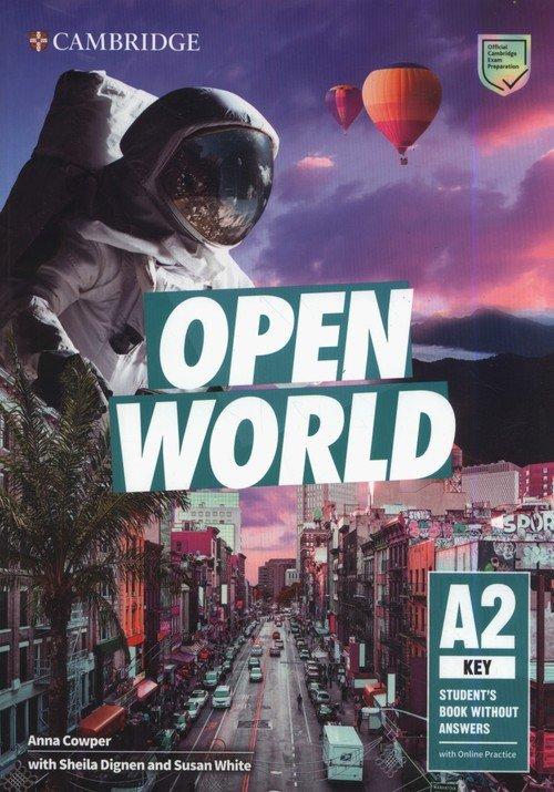 Open World Key Students Book without - okładka podręcznika