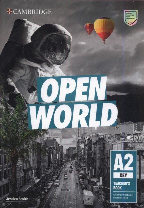 Open World Key Teachers Book with - okładka podręcznika