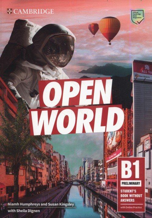 Open World Preliminary Students - okładka podręcznika