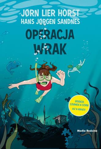 Operacja Wrak - okładka książki