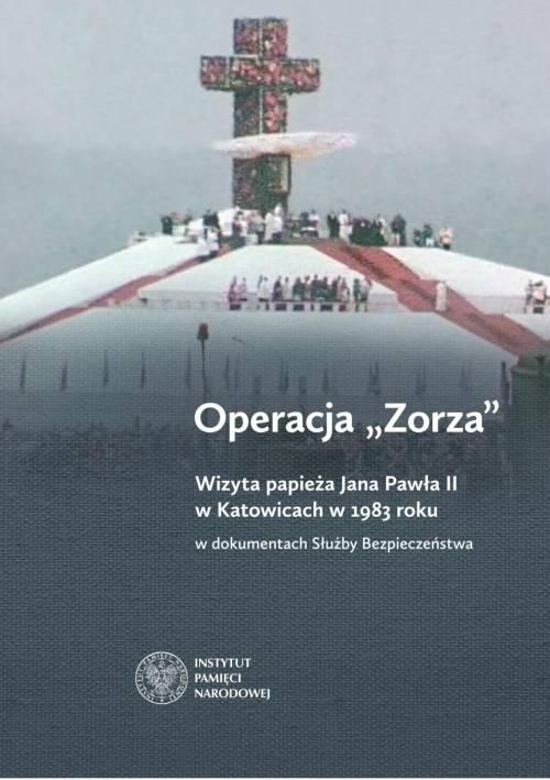 Operacja Zorza. Wizyta papieża - okładka książki