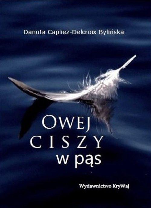Owej ciszy w pąs - okładka książki