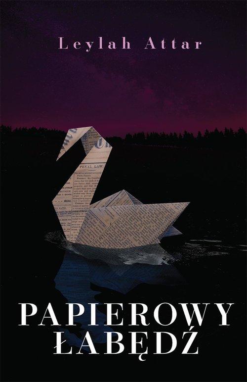 Papierowy łabędź - okładka książki