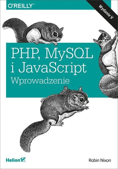 PHP MySQL i JavaScript Wprowadzenie - okładka książki