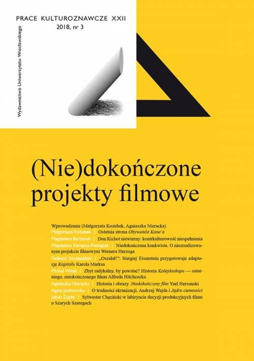 Prace Kulturoznawcze XXII, 2018, - okładka książki