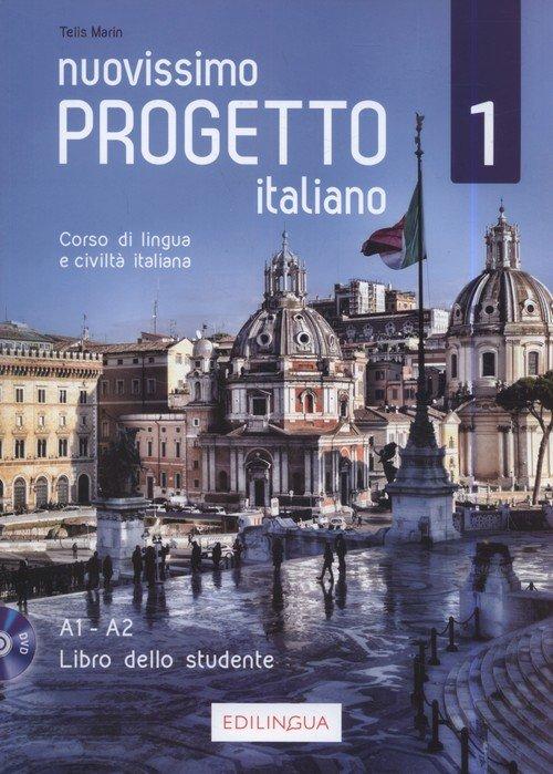 Progetto italiano Nuovissimo 1 - okładka podręcznika