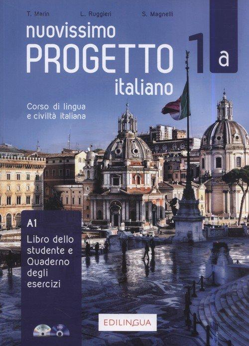 Progetto italiano Nuovissimo 1A - okładka podręcznika