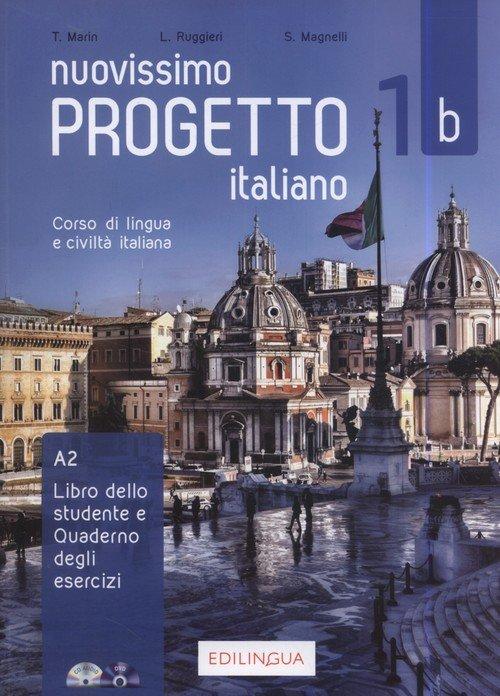 Progetto italiano Nuovissimo 1B - okładka podręcznika