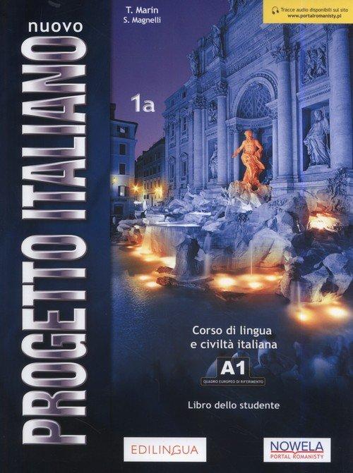 Progetto Italiano Nuovo 1A podręcznik - okładka podręcznika