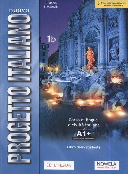 Progetto Italiano Nuovo 1B podręcznik - okładka podręcznika