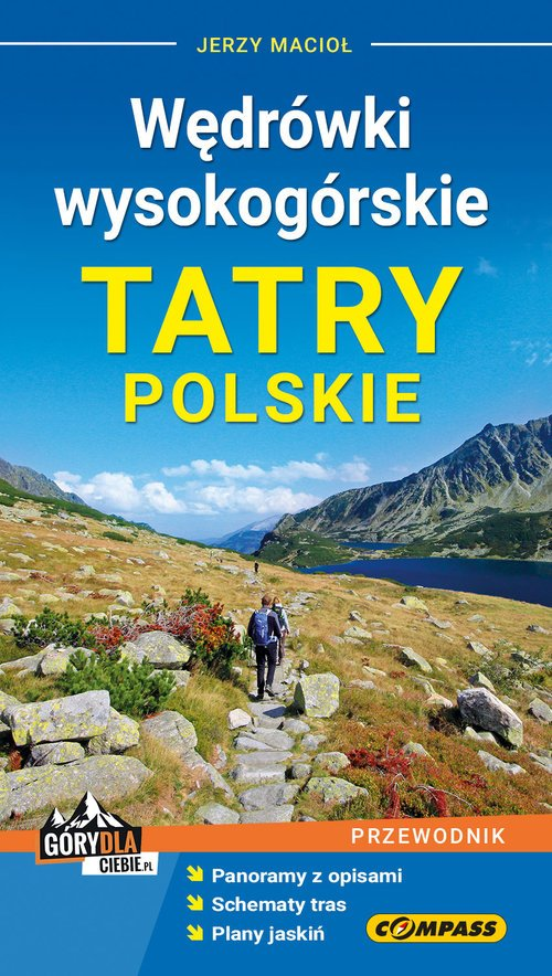 Przewodnik Tatry Polskie. Wędrówki - okładka książki