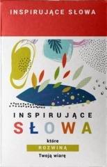 Inspirujące słowa, które rozwiną - okładka książki