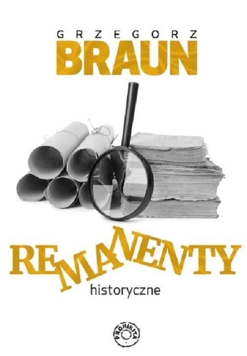 Remanenty historyczne - okładka książki