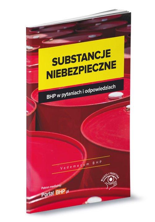 Substancje niebezpieczne BHP w - okładka książki