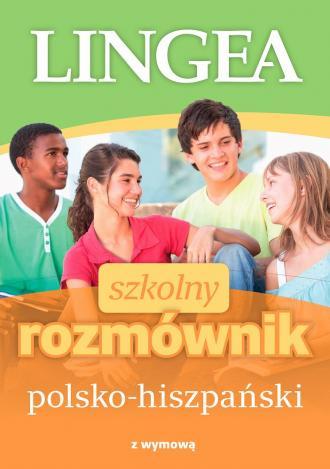 Szkolny rozmównik polsko-hiszpański - okładka podręcznika
