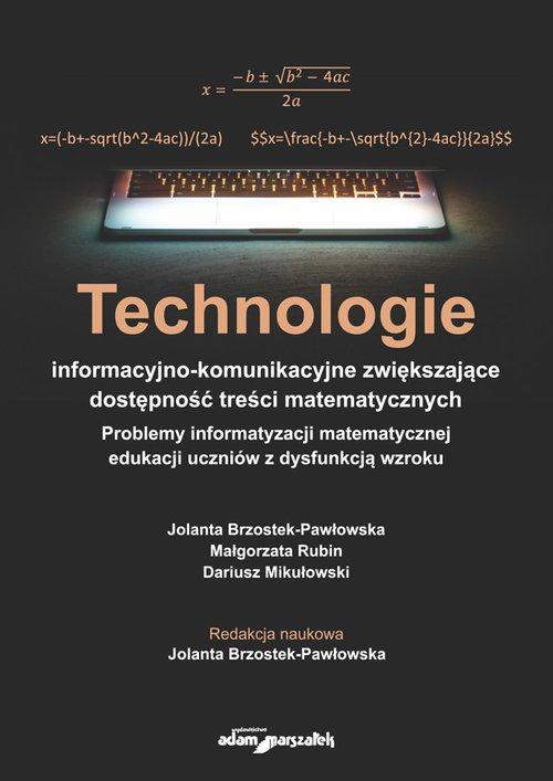 Technologie informacyjno-komunikacyjne - okładka książki