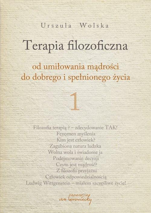 Terapia filozoficzna. Od umiłowania - okładka książki
