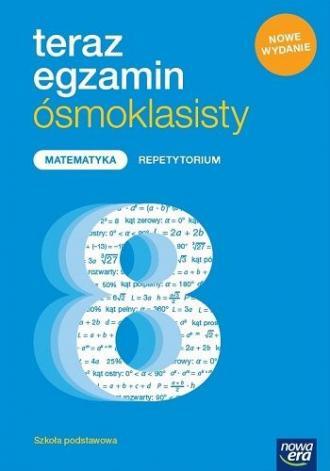 Teraz egzamin ósmoklasisty Matematyka - okładka podręcznika