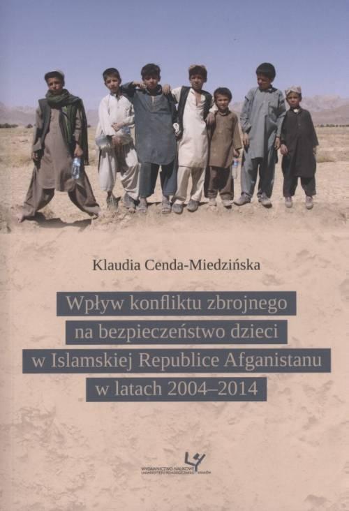 Wpływ konfliktu zbrojnego na bezpieczeństwo - okładka książki