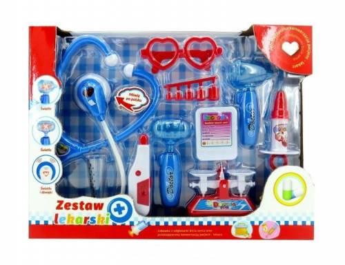 Zestaw lekarski z polskim modułem - zdjęcie zabawki, gry