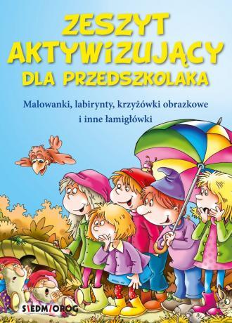 Zeszyt aktywizujący dla przedszkolaka - okładka książki