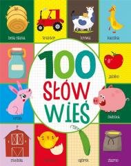 100 pierwszych słów Wieś - okładka książki