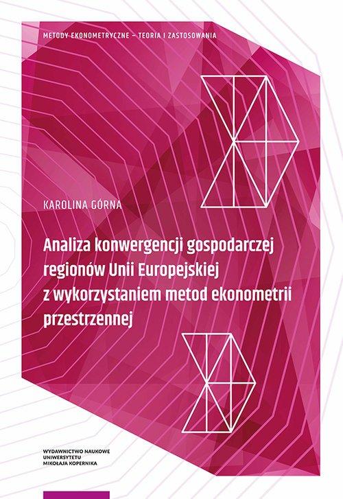 Analiza konwergencji gospodarczej - okładka książki