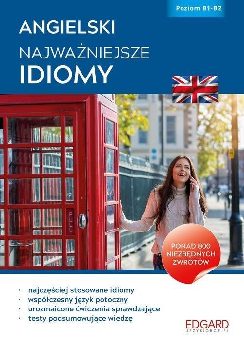 Angielski. Najważniejsze idiomy. - okładka podręcznika