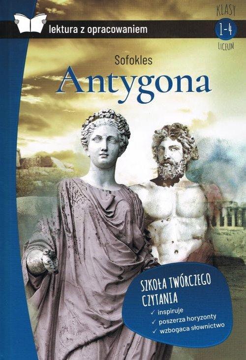 Antygona (z opracowaniem) - okładka podręcznika