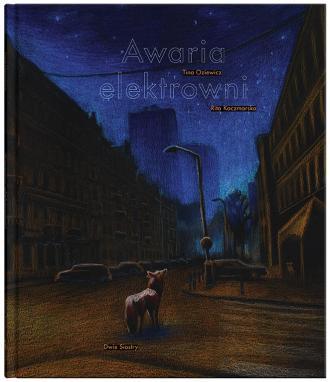 Awaria elektrowni - okładka książki