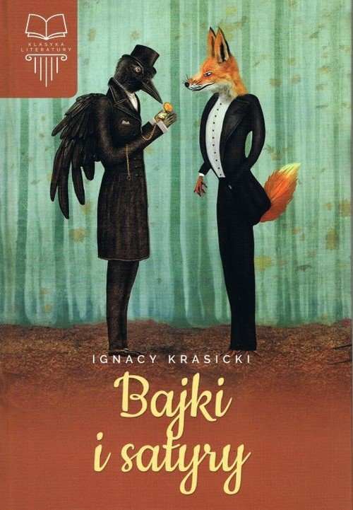 Bajki i satyry - okładka podręcznika