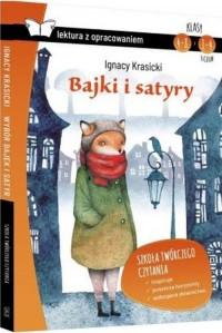 Bajki i satyry (z opracowaniem) - okładka podręcznika