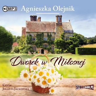 Dworek w Miłosnej (CD mp3) - pudełko audiobooku
