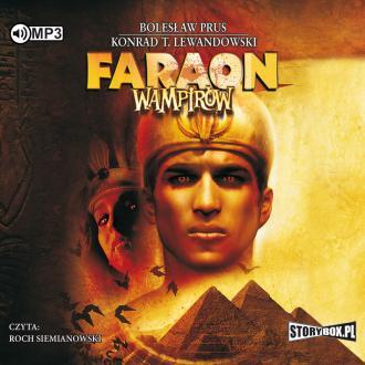 Faraon wampirów (CD mp3) - pudełko audiobooku