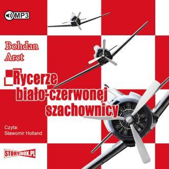 Rycerze biało-czerwonej szachownicy - pudełko audiobooku