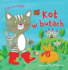 Czas na bajkę. Kot w butach - okładka książki