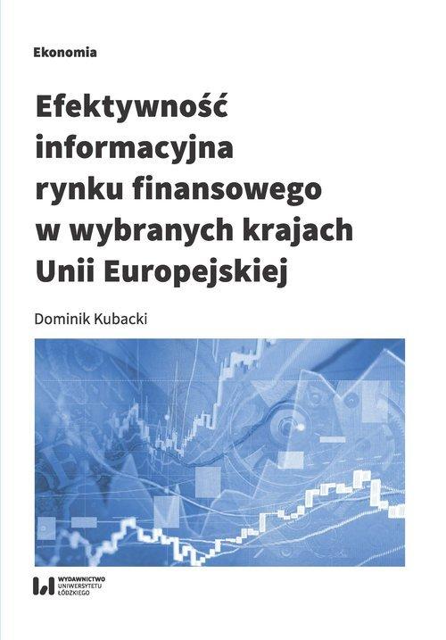 Efektywność informacyjna rynku - okładka książki