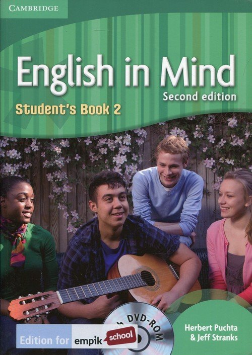 English in Mind 2 Students Book - okładka podręcznika