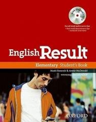 English Result Elementary SB PK - okładka podręcznika