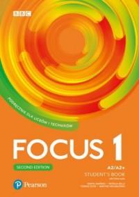 Focus Second Edition 1. Szkoła - okładka podręcznika