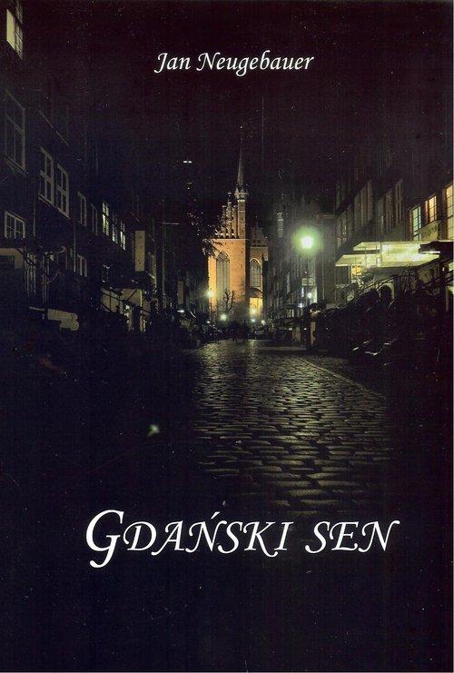 Gdański sen - okładka książki