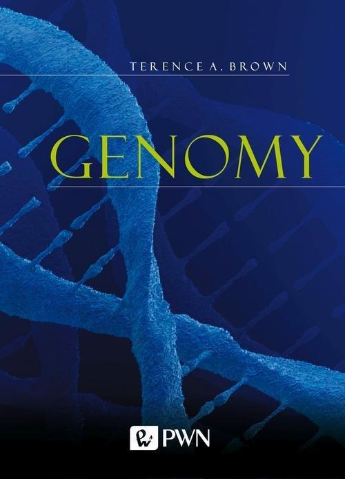 Genomy - okładka książki