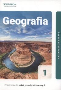Geografia 1. Liceum. Podręcznik. - okładka podręcznika