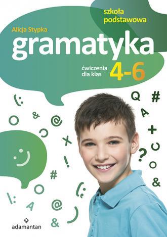 Gramatyka. Ćwiczenia dla klas 4-6. - okładka podręcznika
