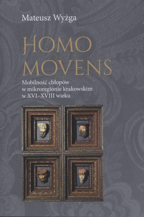 Homo movens. Mobilność chłopów - okładka książki